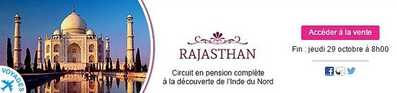 vente privee voyage rajasthan circuit pension complete decouverte inde du nord