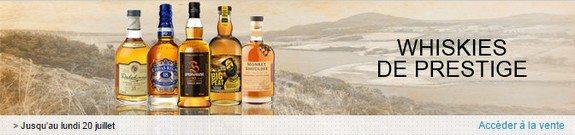 vente privee whiskies prestige